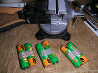 making of the battery pack 1st