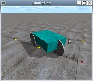 screenshot of demo_buggy on ODE-0.9